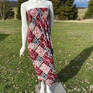 Riley & James Aztec Maxi Dress M